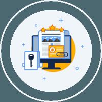 Ведення блогу під ключ іконка